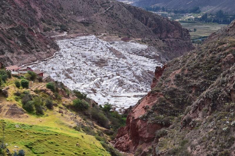zoutvlaktes bij Maras (peru)