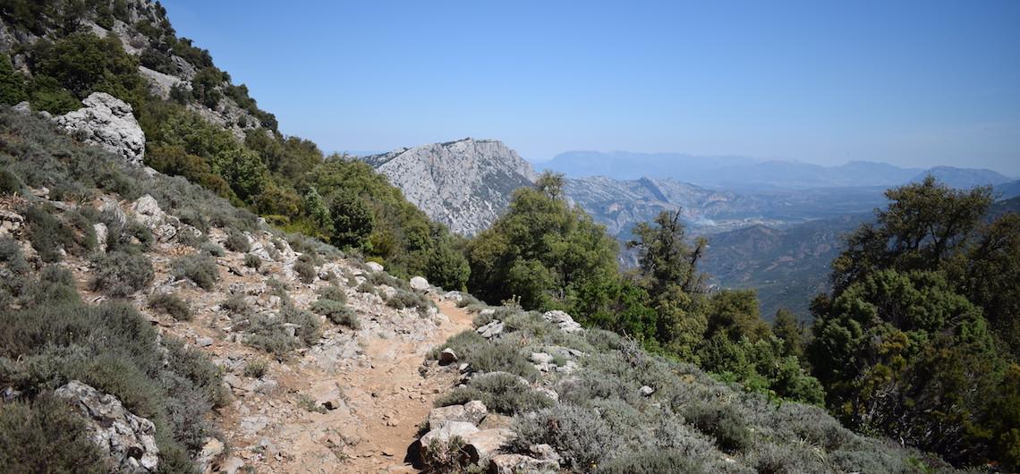 Route naar Gola di Gorropu