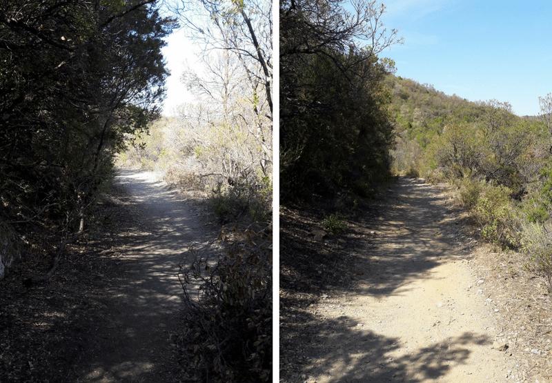 makkelijke route naar Gorropu