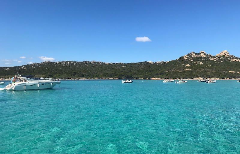 Boot excursie La Maddalena Archipel
