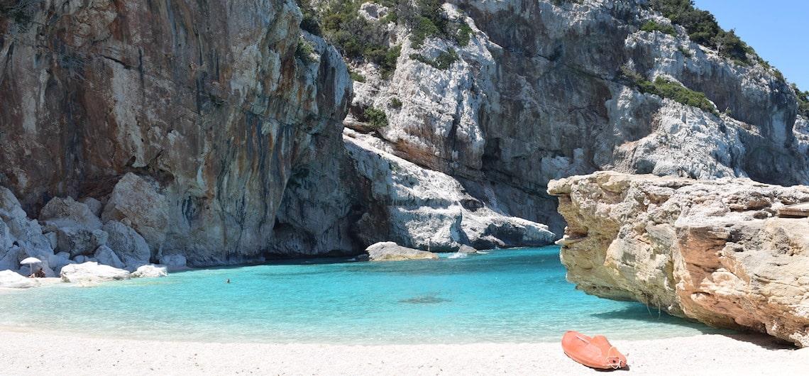 mooiste strand Cala Mariolu Sardinie