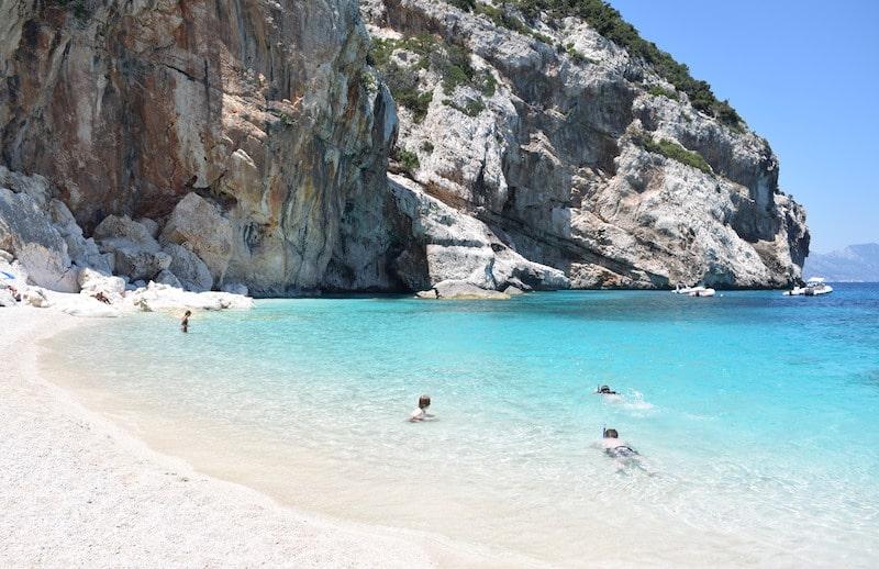 Cala Mariolu - stranden Sardinie