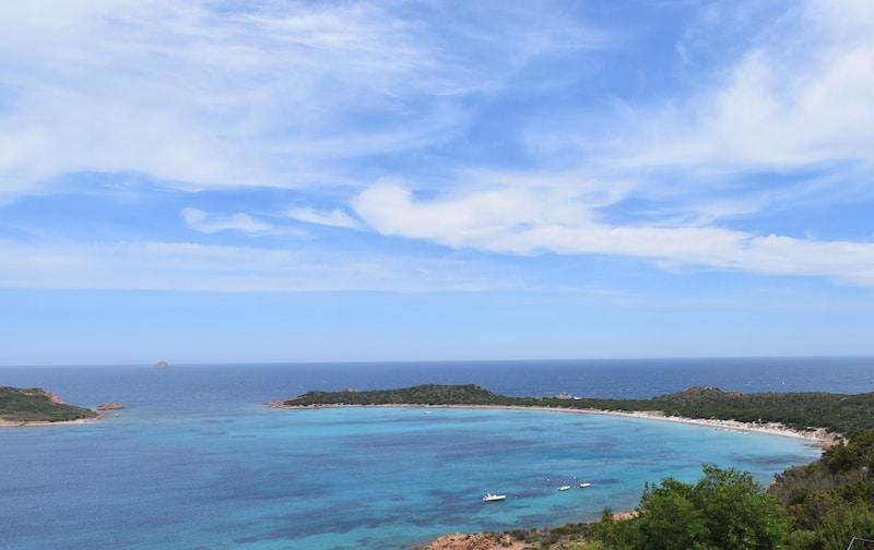 Capo Coda Cavallo strand San Teodoro