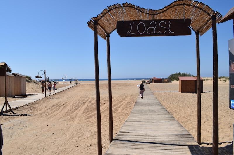 Strand Piscinas Sardinie