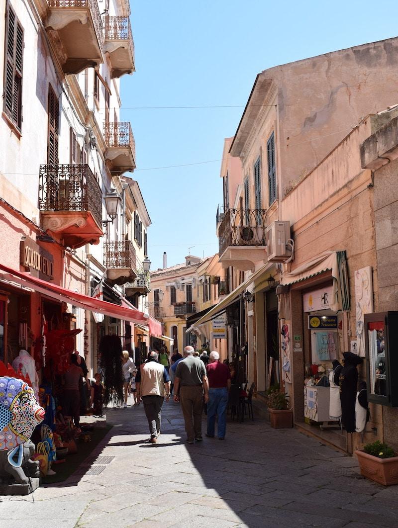 Stad La Maddalena eiland