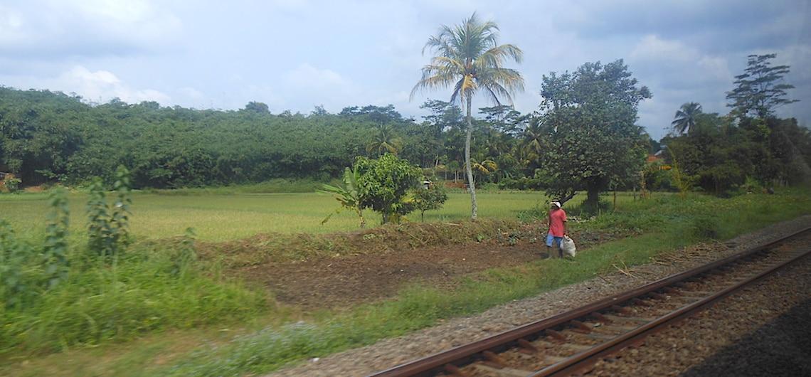 van Jakarta naar Bandung