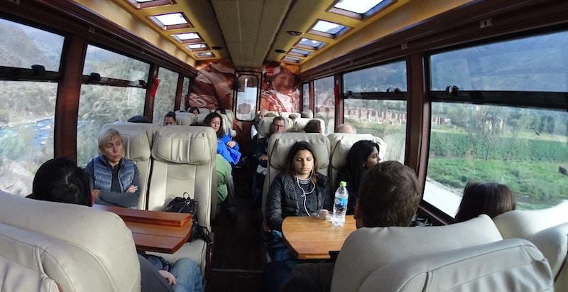 Inca rail trein