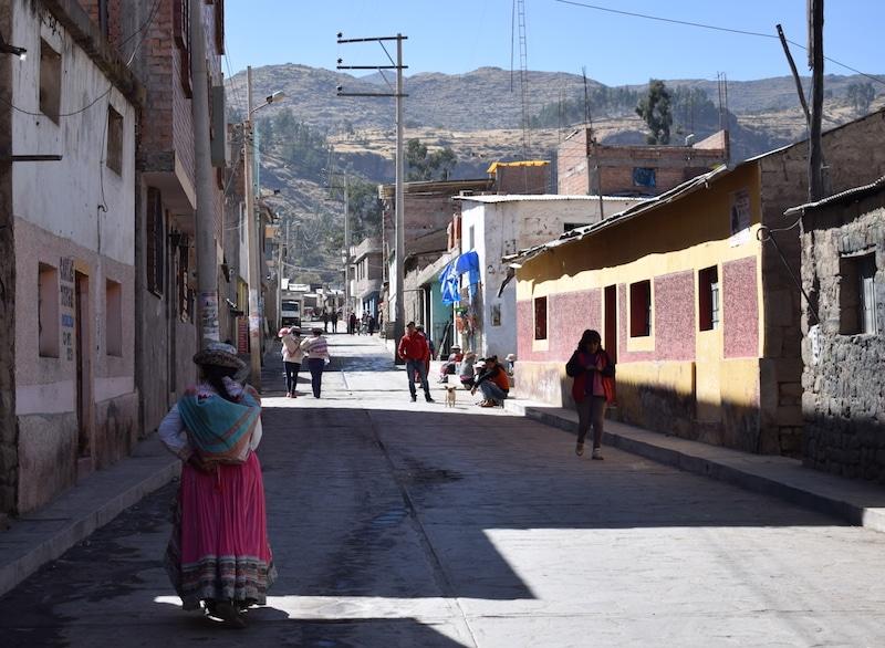 Cabanaconde - Colca vallei