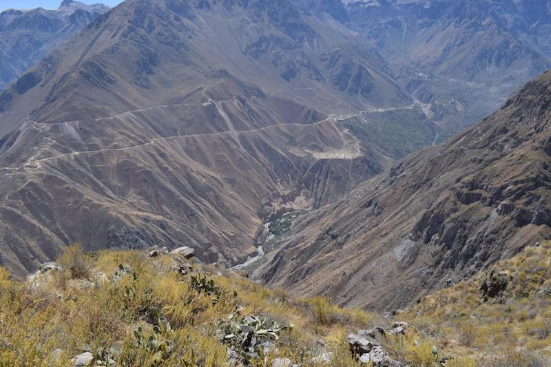 Colca canyon trekking routes