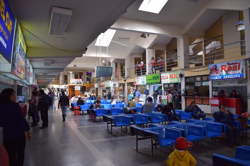 Cusco busstation