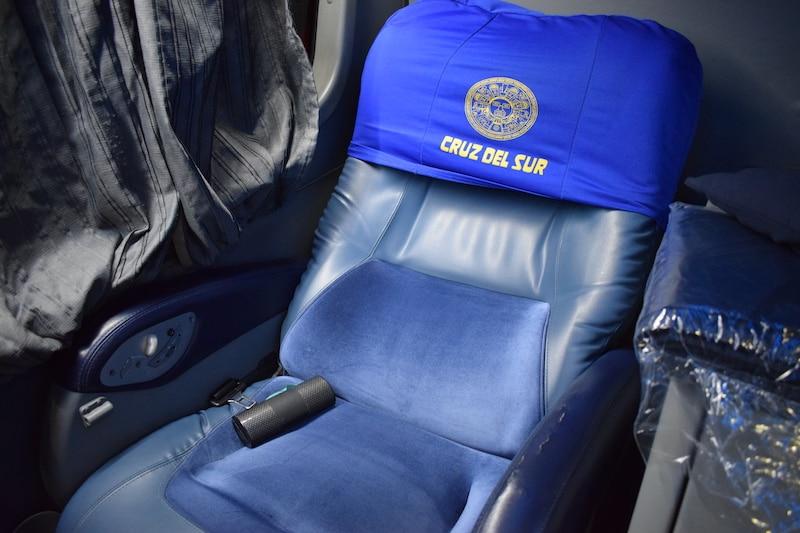 Cruz del Sur VIP stoel 160 graden