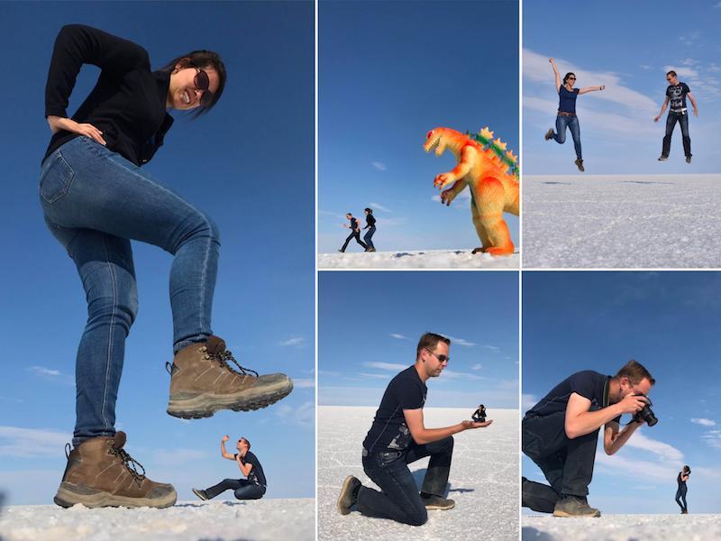 Foto's Uyuni zoutvlakte