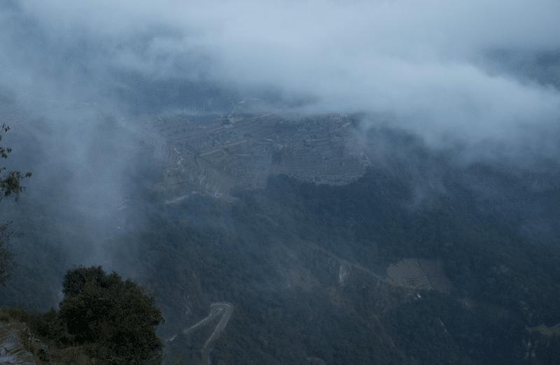 Machu Picchu zonsopgang Inca Trail
