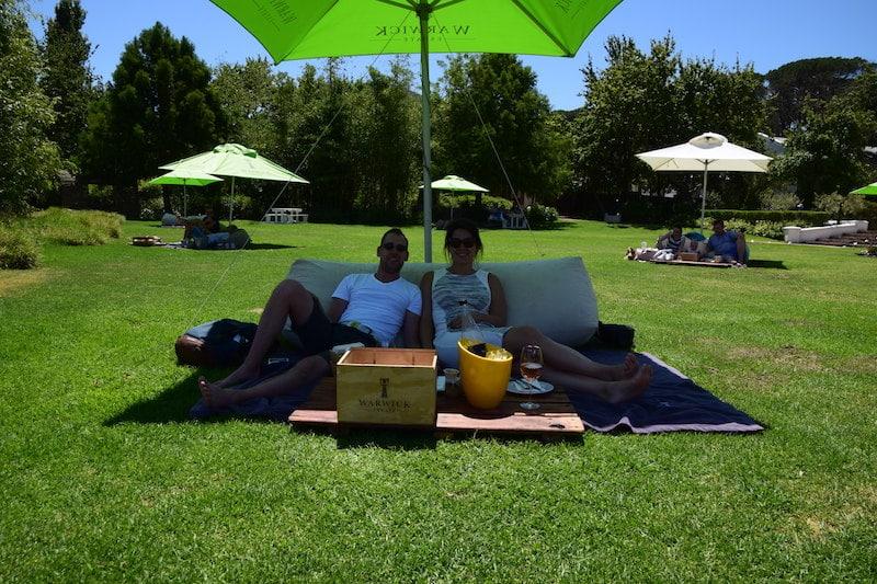 Wijn tour Stellenbosch Picknick