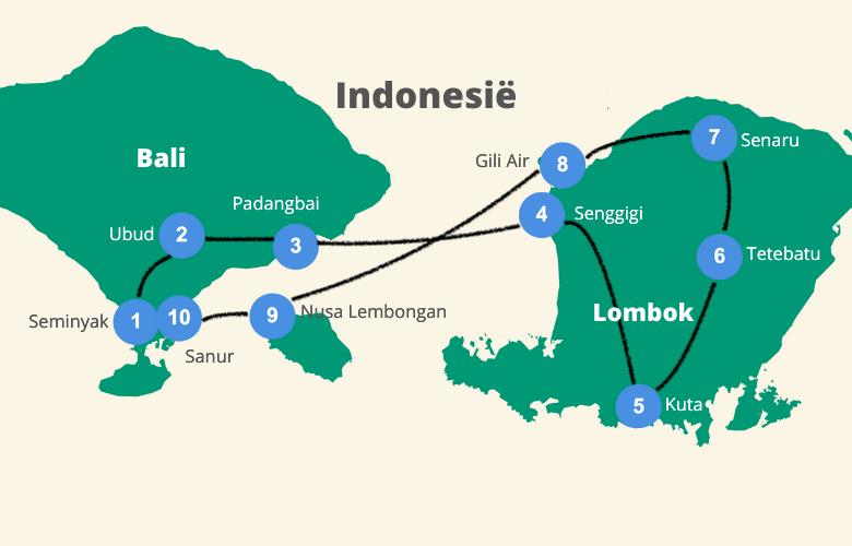 Bali Lombok rondreis