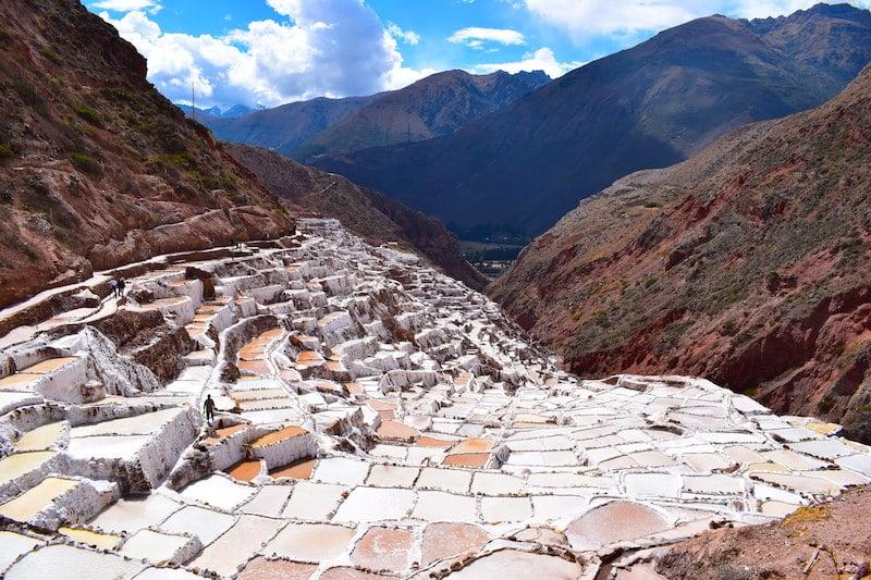 Maras zoutvlaktes Peru