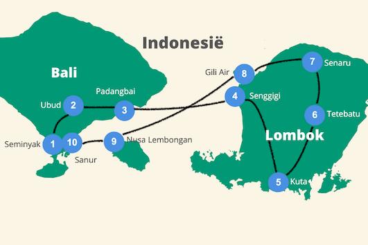 Rondreis bali lombok