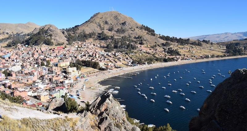boten copacabana naar isla del sol