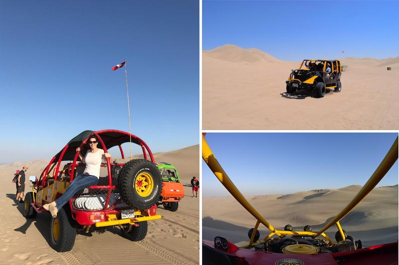 Buggy Sandboard tour Huacachina