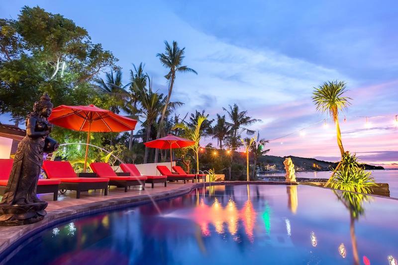 Infinity pool Nusa Ceningan