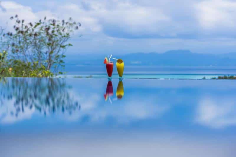 Infinity pool Nusa Lembongan