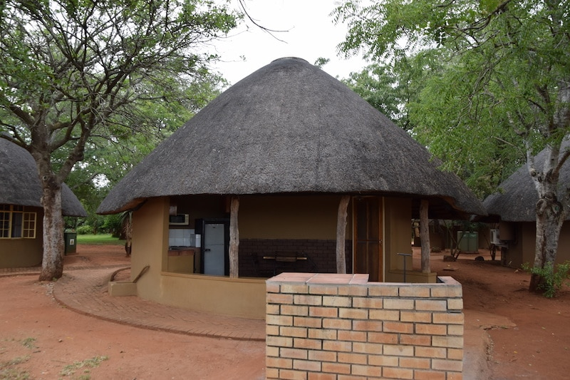 Crocodile Bridge restcamp Kruger park Bungalow BD3