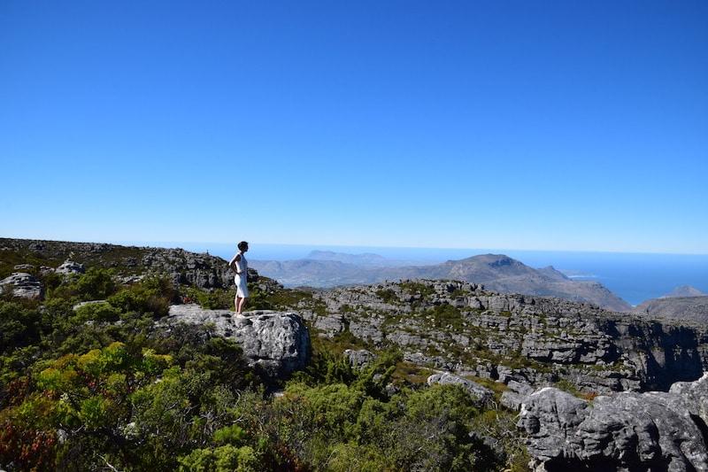 Tafelberg van boven