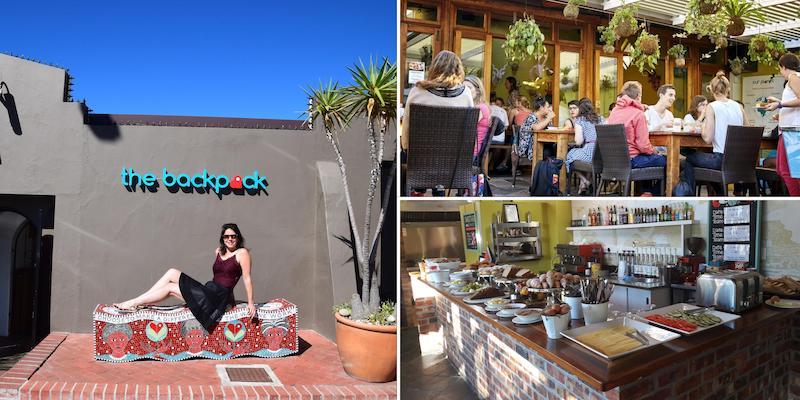 The backpack hostel Kaapstad