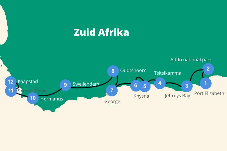 Tuinroute roadtrip Zuid Afrika