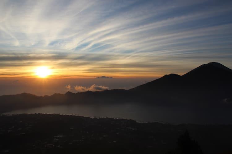 Ubud vulkaan Batur beklimmen