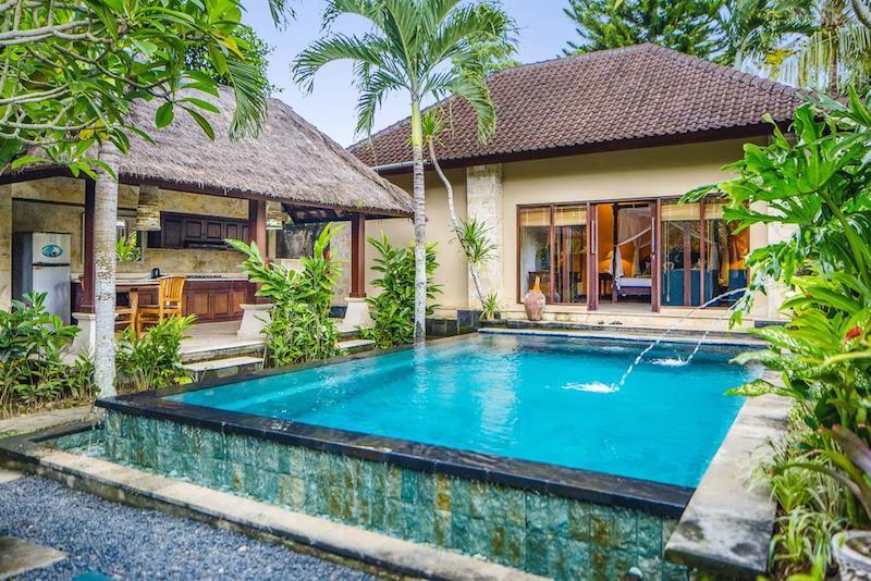 Cottages Ubud met eigen zwembad
