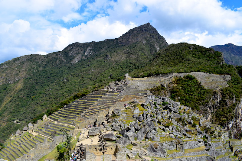Machu Picchu Mountain beklimmen