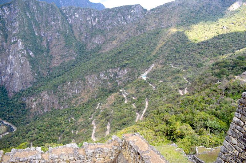 Machu Picchu beklimmen vanuit Agues Calientes
