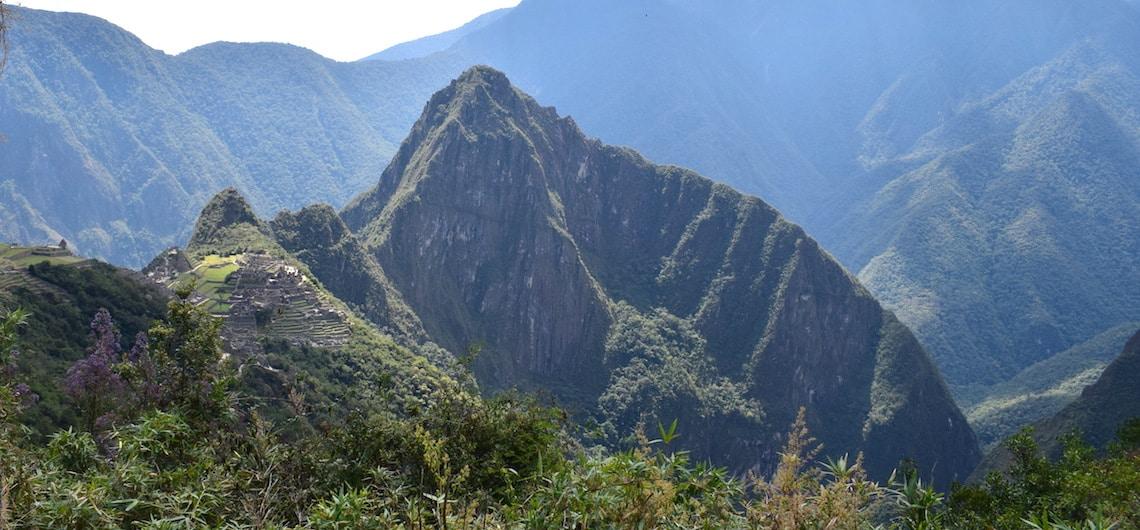 Machu Picchu hoogte