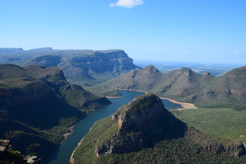 River blyde canyon zuid afrika