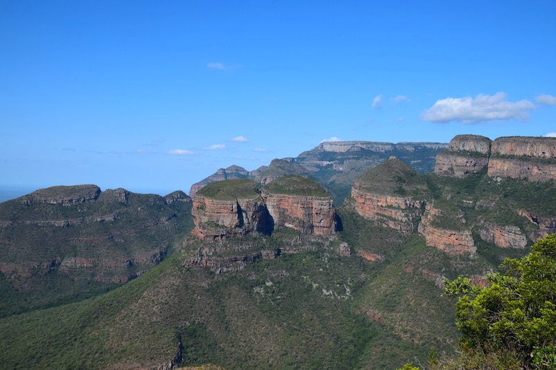Three rondavels Zuid Afrika