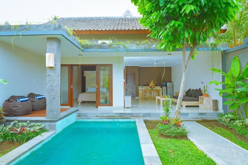 Villa Padma Ubud private pool