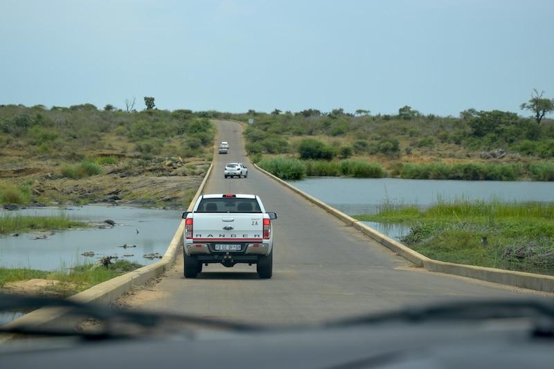 Brug Lower Sabie Krugerpark