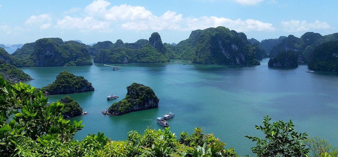 Hanoi naar Halong bay en Cat Ba