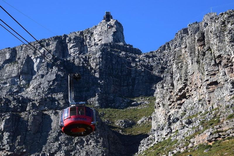 Kabelbaan Tafelberg bezoeken