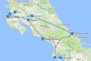 Route Costa Rica 3 weken