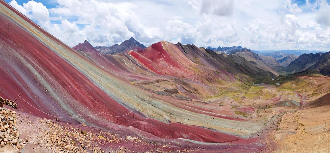 Rainbow Mountain bezoeken peru