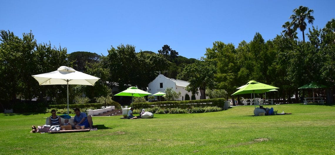 Stellenbosch wijntour zelf regelen