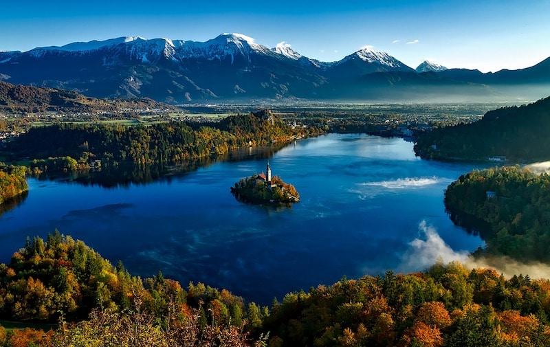 Meer van Bled Slovenie