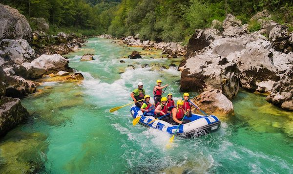 Rafting Bovec with Kata