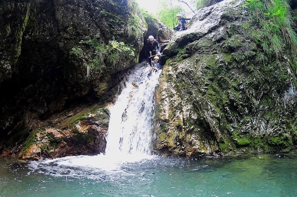 Canyoning Slovenie