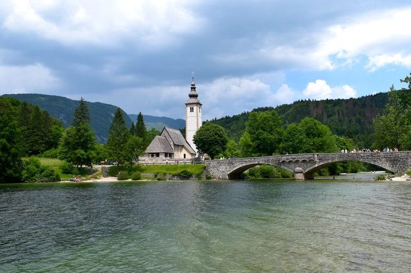 Kerkje Bohinj