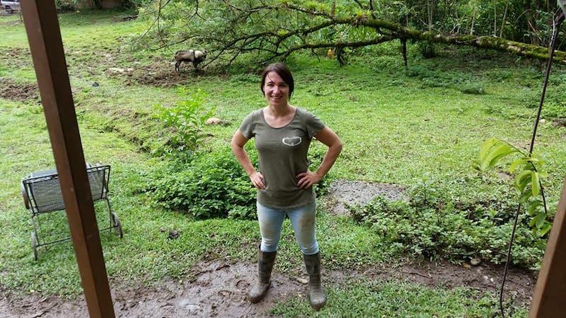Lianne vrijwilliger costa rica