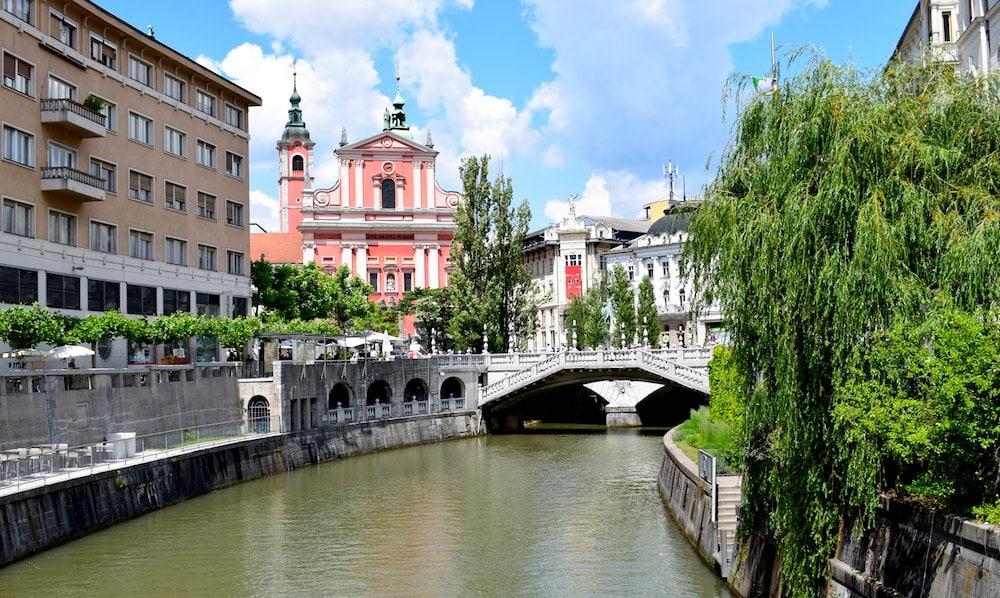 Ljubljana hoofdstad Slovenie