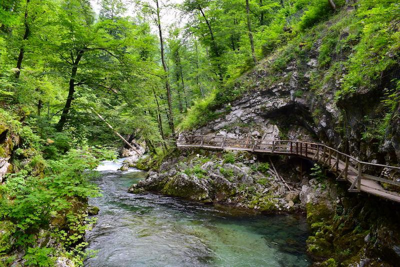 Vintgar kloof Slovenie
